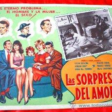 Cine: LAS SORPRESAS DEL AMOR 1959 (LOBBY CARD ORIGINAL) SYLVA KOSCINA WALTER CHIARI DORIAN GRAY. Lote 28626401