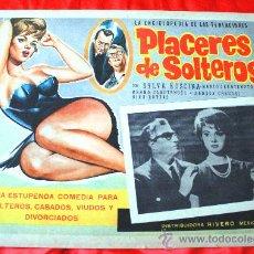 Cine: PLACERES DE SOLTEROS 1960 (LOBBY CARD ORIGINAL) SYLVA KOSCINA MARIO CAROTENUTO. Lote 28626687