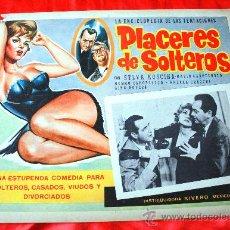 Cine: PLACERES DE SOLTEROS 1960 (LOBBY CARD ORIGINAL) SYLVA KOSCINA MARIO CAROTENUTO. Lote 28626711