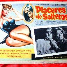 Cine: PLACERES DE SOLTEROS 1960 (LOBBY CARD ORIGINAL) SYLVA KOSCINA MARIO CAROTENUTO. Lote 28626735