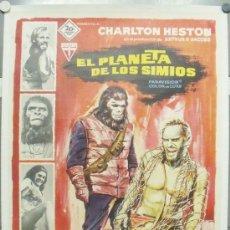 Cine: E1399 EL PLANETA DE LOS SIMIOS CHARLTON HESTON POSTER ORIGINAL 70X100 ESTRENO ENTELADO. Lote 28650175