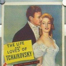 Cine: OK25 SONG OF MY HEART TCHAIKOVSKY POSTER ORIGINAL AUSTRALIANO 34X76 LITOGRAFIA. Lote 28845633