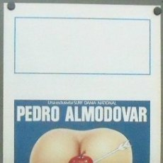 Cine: XP34D LABERINTO DE PASIONES PEDRO ALMODOVAR POSTER ORIGINAL ITALIANO 33X70. Lote 146859300