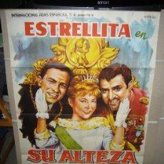 Cine: SU ALTEZA LA NIÑA ESTRELLITA JOSE LUIS OZORES ANTONIO OZORES POSTER ORIGINAL 70X100 A.PERIS. Lote 28911437