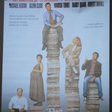 Cine: CARTEL DE ---- THE PAPER ----. Lote 29176410