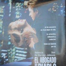 Cine: CARTEL DE CINE --- EL ABOGADO DEL DIABLO ---. Lote 29176533