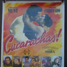 Cine: CARTEL DE CINE --- CUCARACHAS ---. Lote 29176853
