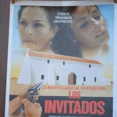 Cine: CARTEL DE CINE --- LOS INVITADOS ---. Lote 29176889