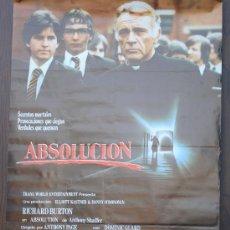 Cine: CARTEL DE CINE --- ABSOLUCION ----. Lote 29176950
