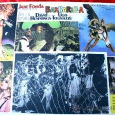 Cine: BARBARELLA 1968 (CARTEL ORIGINAL) JANE FONDA JOHN PHILLIP LAW UGO TOGNAZZI. Lote 29325372