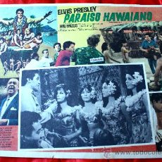Cine: PARAISO HAWAIANO (CARTEL ORIGINAL) ELVIS PRESLEY. Lote 134105810
