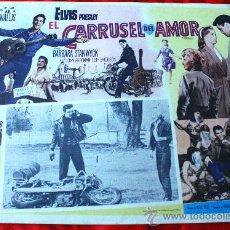 Cine: EL TROTAMUNDOS1964 (EL CARRUSEL DEL AMOR) (LOBBY CARD ORIGINAL) ELVIS PRESLEY. Lote 134105786