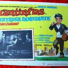 Cine: ENTREGA INMEDIATA 1963 (CARTEL ORIGINAL) MARIO MORENO CANTINFLAS. Lote 29389735