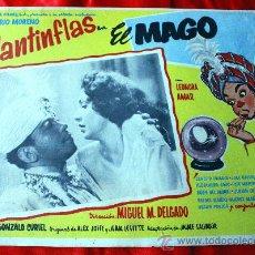 Cine: EL MAGO 1949 (CARTEL ORIGINAL) MARIO MORENO CANTINFLAS. Lote 29390194