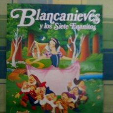 Cine: POSTER BLANCANIEVES Y LOS 7 ENANITOS.. Lote 29528982