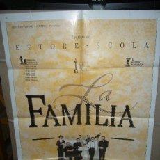 Cine: LA FAMILIA ETTORE SCOLA POSTER ORIGINAL 70X100 D57. Lote 29647831
