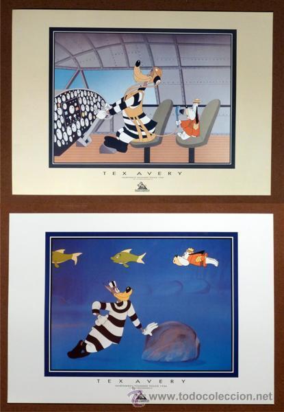 LOTE DE PÓSTER TEX AVERY - 2 UNID. (43 X 61 CM) (Cine - Posters y Carteles - Infantil)