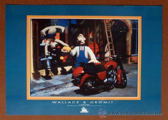 PÓSTER WALLACE Y GROMIT (43 X 61 CM) (Cine - Posters y Carteles - Infantil)