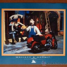 Cine: PÓSTER WALLACE Y GROMIT (43 X 61 CM). Lote 29650879
