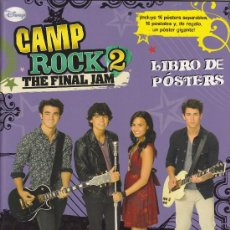Cine: CAMP ROCK 2 : THE FINAL JAM (LIBRO DE POSTERS (16 POSTALES+ 16 POSTERS + 1 GIGANTE). Lote 29660916