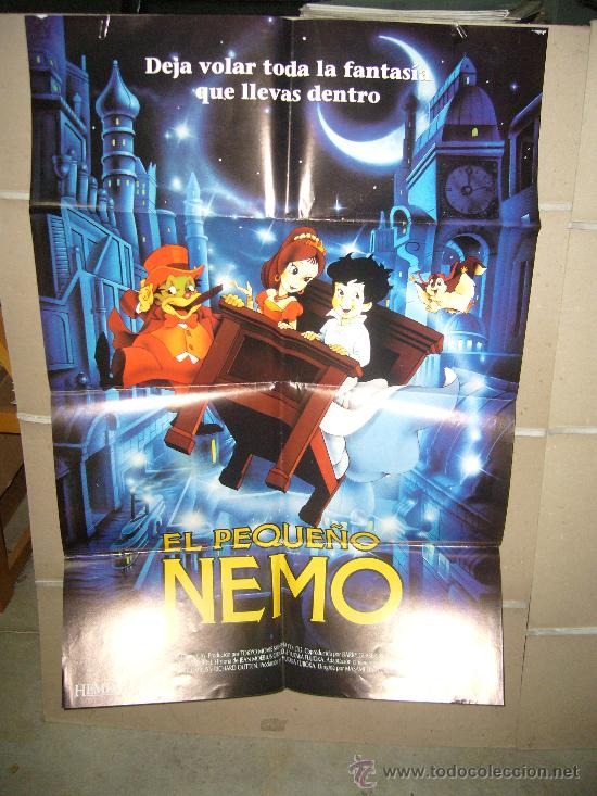 EL PEQUEÑO NEMO POSTER ORIGINAL 70X100 (Cine - Posters y Carteles - Infantil)