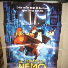 Cine: EL PEQUEÑO NEMO POSTER ORIGINAL 70X100. Lote 29666335