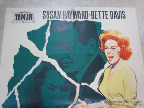 Cine: A DONDE FUE EL AMOR - SUSAN HAYWARD, BETTE DAVIS - AÑO 1965 - Foto 2 - 29691267
