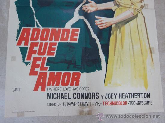 Cine: A DONDE FUE EL AMOR - SUSAN HAYWARD, BETTE DAVIS - AÑO 1965 - Foto 4 - 29691267