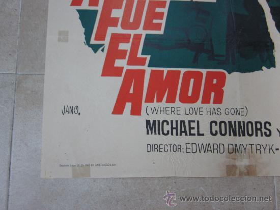 Cine: A DONDE FUE EL AMOR - SUSAN HAYWARD, BETTE DAVIS - AÑO 1965 - Foto 5 - 29691267