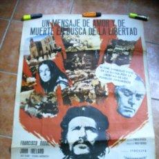 Cine: CARTEL DE CINE EL CHE GUEVARA (PACO RABAL). Lote 29712814