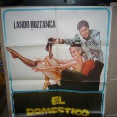 Cine: EL DOMESTICO LANDO BUZZANCA POSTER ORIGINAL 70X100 YY(501). Lote 29719637