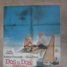 Cine: DOS Y DOS CINCO - LOLO GARCIA, ANTONIO FERRANDIS - AÑO 1980. Lote 85653280