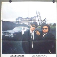 Cine: OQ66 GRANUJAS A TODO RITMO THE BLUES BROTHERS JOHN BELUSHI DAN AYKROYD POSTER ORIGINA 70X100 ESTRENO. Lote 53620824