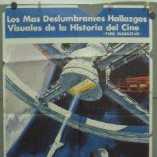 Cine: OQ50 2001 UNA ODISEA DEL ESPACIO STANLEY KUBRICK POSTER ORIGINAL 70X100 ESTRENO. Lote 29887096
