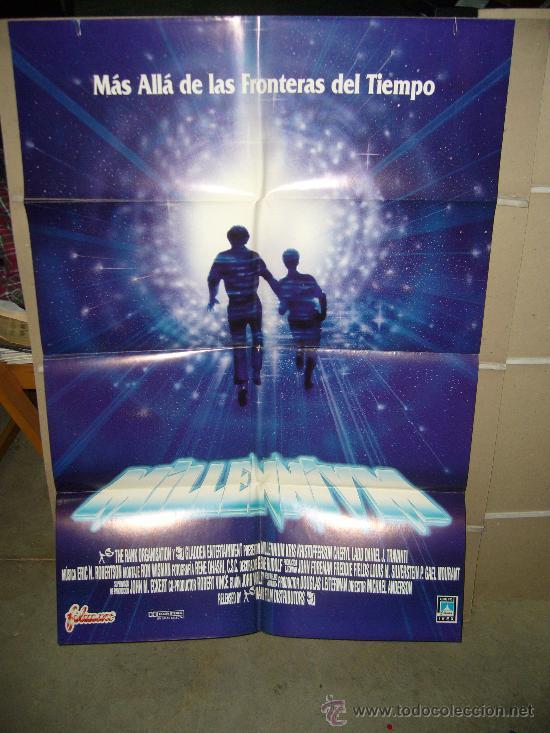 MILLENNIUM CHERYL LADD KRIS KRISTOFFERSON POSTER ORIGINAL 70X100 Q (Cine - Posters y Carteles - Ciencia Ficción)