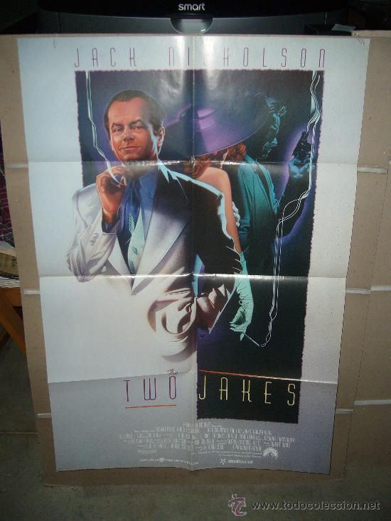 THE TWO JAKES JACK NICHOLSON POSTER ORIGINAL 70X100 Q (Cine- Posters y Carteles - Drama)