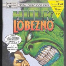 Cine: DVD - DIGITAL COMICS BOOKS SERIES - HULK - LOBEZNO: VOLUMEN 1 NºS 1-2-3-. Lote 30055871