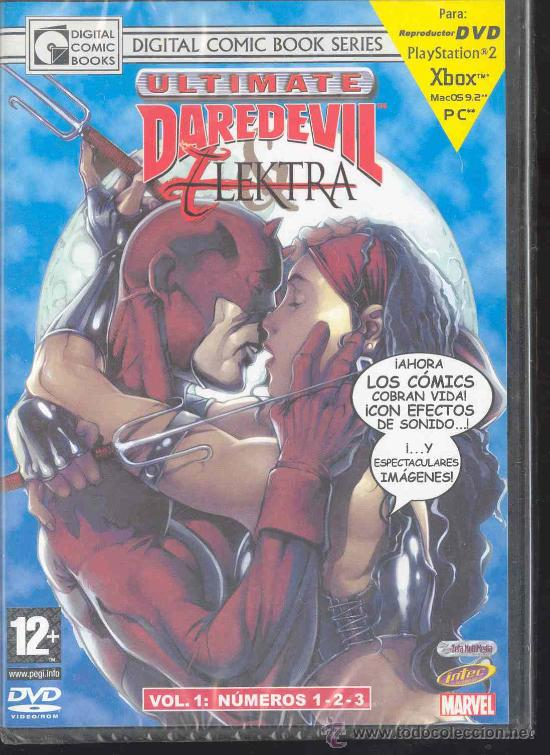 DVD - DIGITAL COMICS BOOKS SERIES - ULTIMATE DAREDEVIL ELEKTRA - VOLUMEN 1: NºS 1-2-3- (Cine - Posters y Carteles - Infantil)