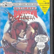 Cine: DVD - DIGITAL COMICS BOOKS SERIES - ULTIMATE DAREDEVIL ELEKTRA - VOLUMEN 1: NºS 1-2-3-. Lote 30055999