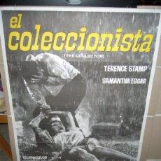 Cinema: EL COLECCIONISTA WILLIAM WYLER SAMANTHA EGGAR TERENCE STAMP POSTER ORIGINAL 70X100 . Lote 30161682