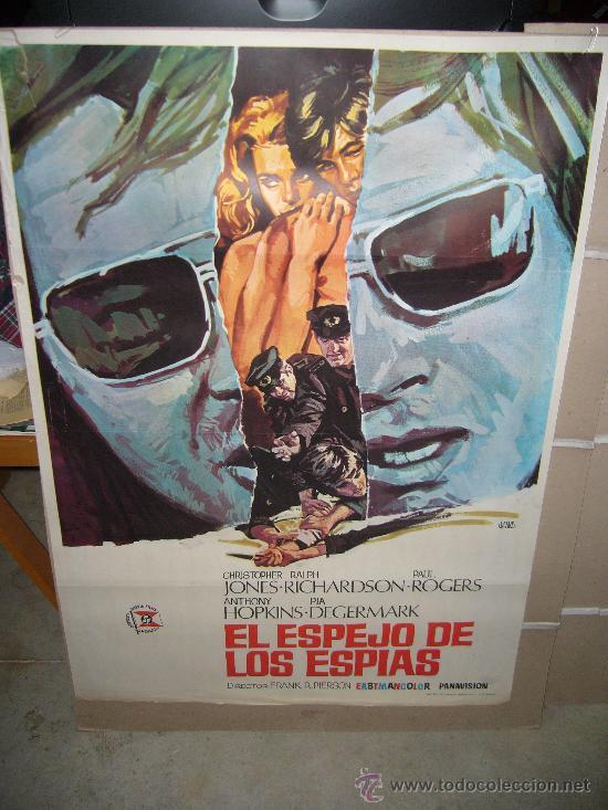 EL ESPEJO DE LOS ESPIAS CHRISTOPHER JONES ANTHONY HOPKINS POSTER ORIGINAL 70X100 (Cine - Posters y Carteles - Suspense)