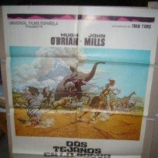 Cine: DOS TEJANOS EN LA SELVA POSTER ORIGINAL 70X100 YY(466). Lote 30300803
