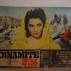Cine: DINAMITE JIM - WESTER - 1.968 - FOTOCROMO GRAN TAMAÑO : 67 CM X 46 CM. Lote 30375573