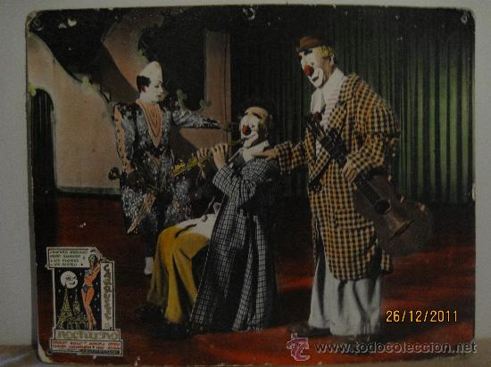 CARRUSEL NOCTURNO - FOTOCROMO ORIGINAL DE LA PELICULA - 1.964. EN CARTON DURO. 49,5 X 39,5 CMS. (Cine - Posters y Carteles - Comedia)