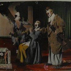 Cine: CARRUSEL NOCTURNO - FOTOCROMO ORIGINAL DE LA PELICULA - 1.964. EN CARTON DURO. 49,5 X 39,5 CMS.. Lote 30376083