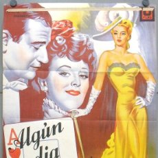 Cine: OT79D ALGUN DIA VOLVERE JOHN WAYNE ANN DVORAK POSTER ORIGINAL ESTRENO 70X100 LITOGRAFIA. Lote 18107439