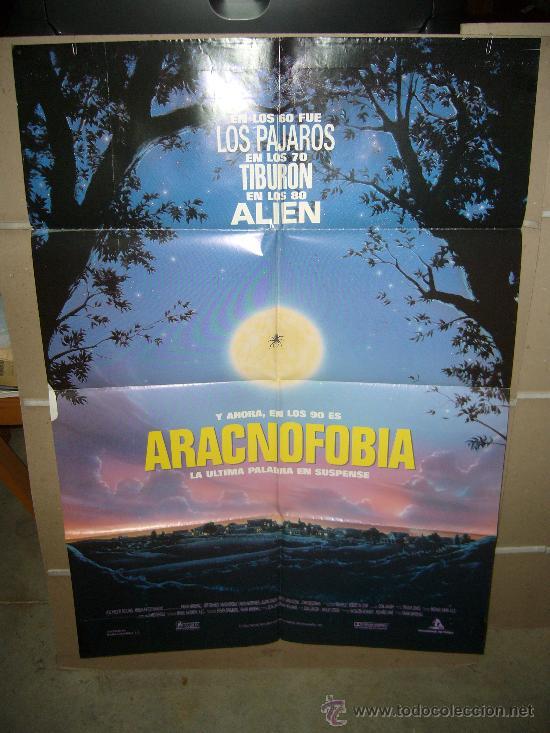 ARACNOFOBIA POSTER ORIGINAL 70X100 Q (Cine - Posters y Carteles - Terror)