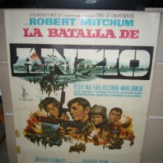 Cine: LA BATALLA DE ANZIO ROBERT MITCHUM PETER FALK ROBERT RYAN POSTER POSTER ORIGINAL 70X100. Lote 30630824