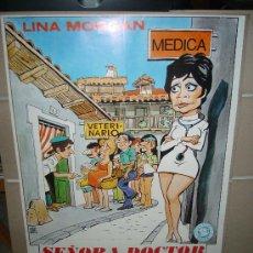 Cine: SEÑORA DOCTOR LINA MORGAN POSTER ORIGINAL 70X100 . Lote 30985486
