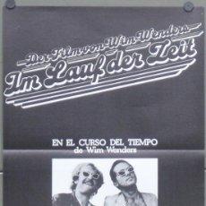 Cine: OW63 EN EL CURSO DEL TIEMPO WIM WENDERS POSTER ORIGINAL ESTRENO 35X50. Lote 146224876